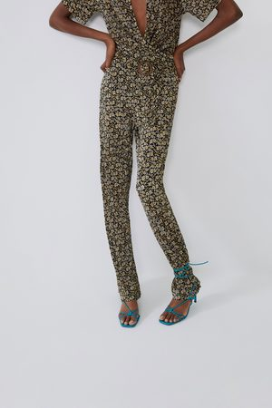 Zara Lange jumpsuit met print