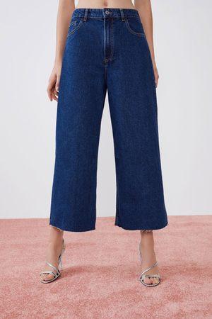Zara Culotte-jeans met hoge taille