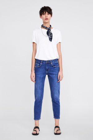 Zara Jeans zw premium slim boyfriend california blue