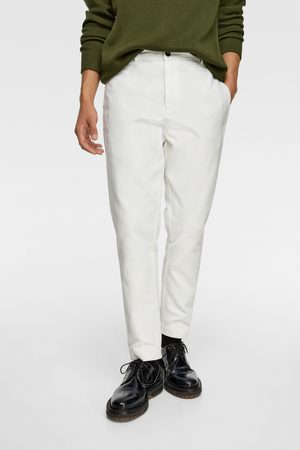 Zara Cropped broek met structuur