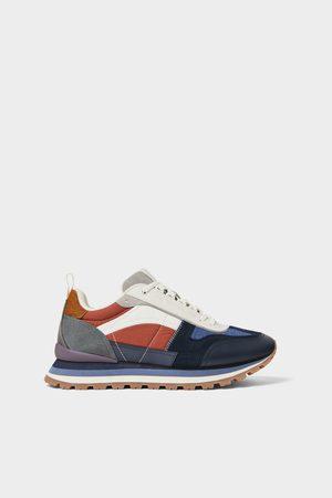 Zara Retro combi-sneakers