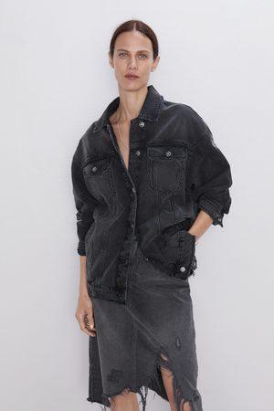 Zara Denim rok met scheuren