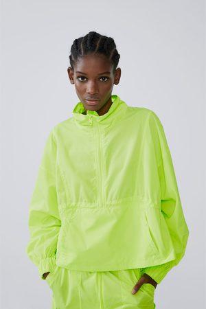 Zara Dames Regenkleding - Opvouwbare regenjas - heuptas
