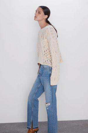 Zara Straight jeans z1975 met hoge taille