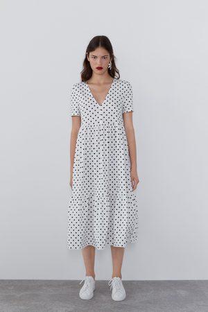 Zara Soepelvallende jurk met print