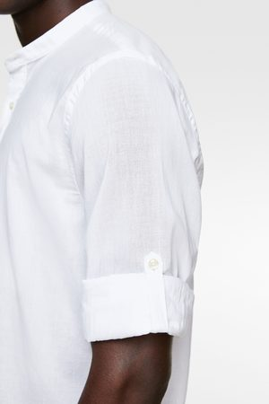 Zara Overhemd met mouwen met mouwophouder