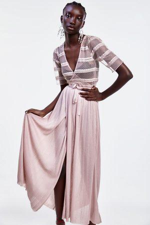 Zara Lange tricot jurk