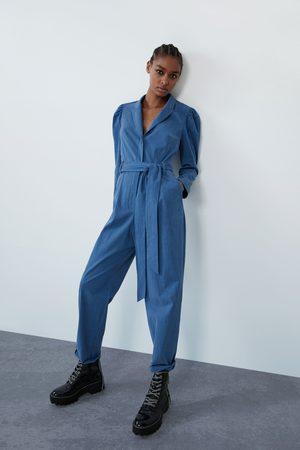 Zara Lange jumpsuit met riem