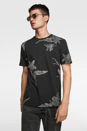 Zara Jacquard t-shirt met textuur