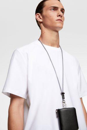 Zara Overhemd traveler met geribde afwerkingen