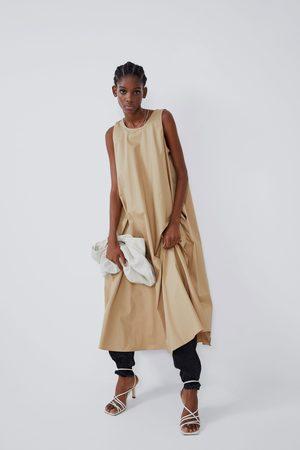 Zara Halflange jurk met zakken