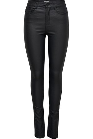 Only Onlanna Mid Gecoate Skinny Jeans Dames