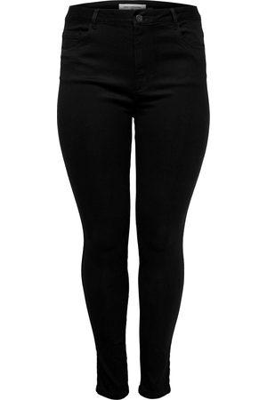 Carmakoma Dames Skinny - Caraugusta Hw Skinny Jeans Black No: