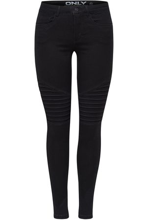 Only Onlroyal Regular Biker Skinny Jeans Dames