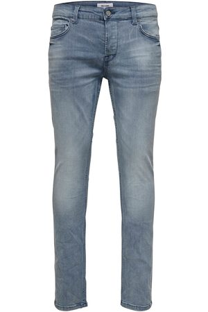 Only & Sons Heren Jeans - Onsloom Blue Grey Pk 3627 Noos