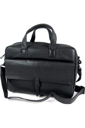 Berba Laptop- & Businesstassen - Klassieke leren 2 vaks 15 inch business tas