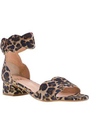 Gosh Sandalen met hak leopard