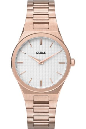 Cluse Horloges Vigoureux 33 H Link Rose Gold Colored Roségoudkleurig
