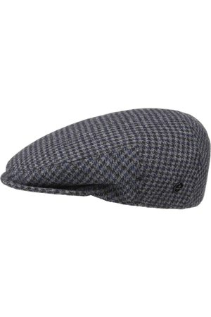 Lierys Britain Houndstooth Flat Cap by