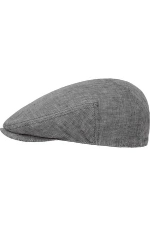 Stetson Heren Petten - Woodfield Linen Flat Cap by