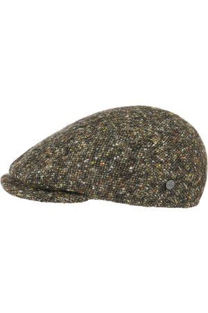 Lierys Virgin Wool Tweed Flat Cap by