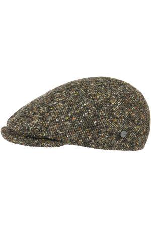Lierys Virgin Wool Tweed Flat Cap by
