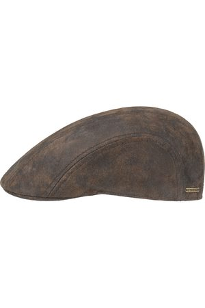 Stetson Madison Leren Flatcap by