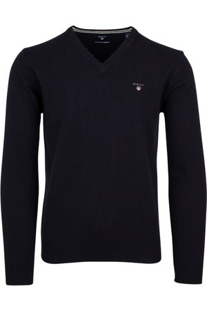 GANT Pullover donkerblauw lamswol