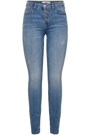 Only Jdyjona High Skinny Jeans Dames Blauw