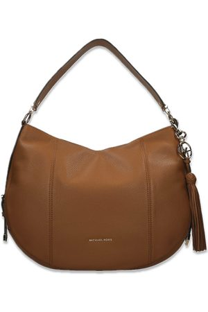 Michael Kors Brooke Large Pebbled Leather Shoulder Acorn sen