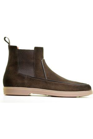 santoni Heren Loafers - 16786 Brown Herenloafers