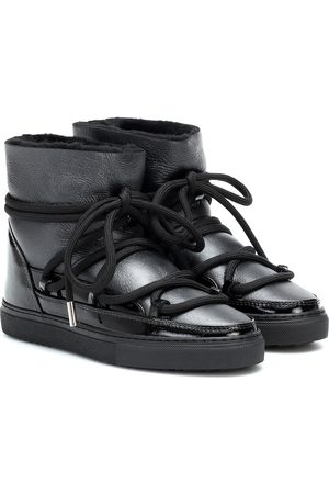 INUIKII Sneaker gloss-leather boots