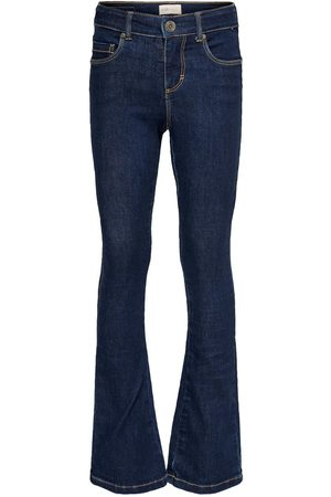 Only Kids Konlinn Flared Dk Blue Dnm Jeans