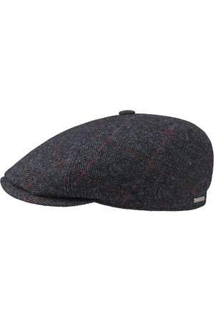 Stetson Heren Petten - Ore Colour Lines Flat Cap by