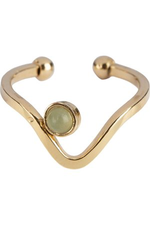 The Little Green Bag Ringen Wave Ring X My Jewellery Goudkleurig
