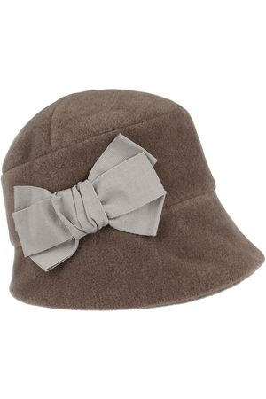 bedacht Dames Cloche Fleece Hoed by