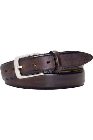 Profuomo Riem Heren Polished Leather Donkerbruin