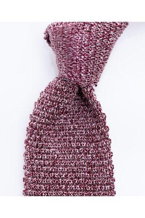 SOC13TY Das Heren Lichtrood Knitted Melange