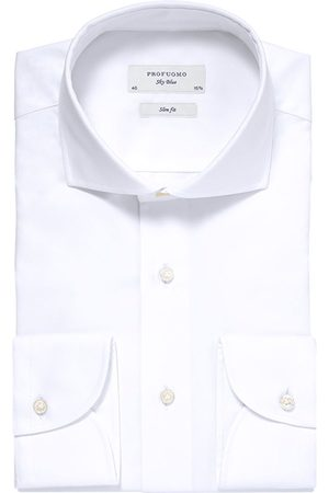 Profuomo Overhemd Heren Royal Twill No.13 Long Sleeve
