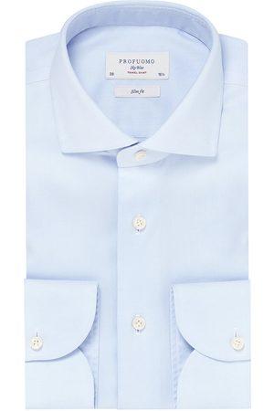Profuomo Overhemd Heren Travelshirt Katoen