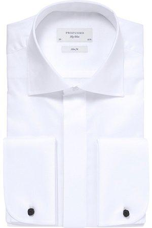Profuomo Smoking Overhemd Heren Uni Katoen