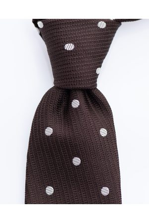 SOC13TY Das Heren Knitted Polkadot Zijde