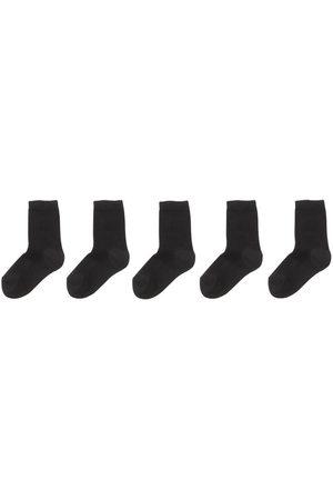 HEMA 5-pak Kindersokken Zwart