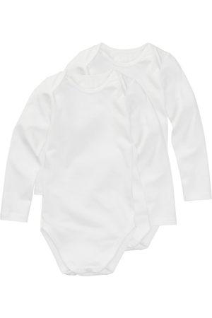 HEMA Baby Rompertjes - Romper Organic Katoen Stretch - 2 Stuks