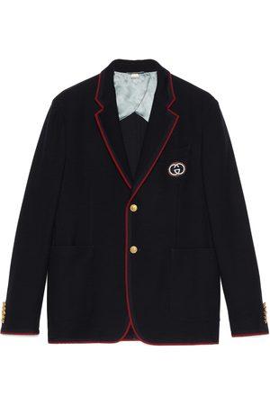 Gucci Palma wool cotton jacket with patch