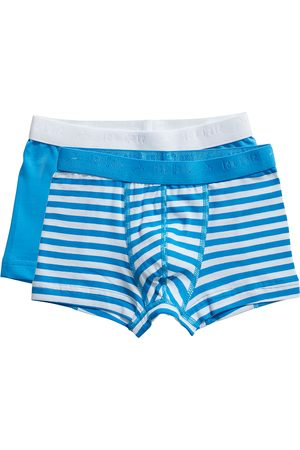 Ten Cate Shorts Stripe and dive blue 2 pack maat 98/104