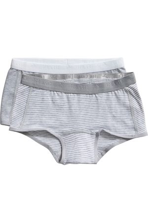 Ten Cate Shorts Stripe and light grey melee 2 pack maat 98/104