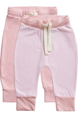 Ten Cate Kinderen Lingerie & Ondermode - Broek Stripe and candy pink 2 pack maat 62/68