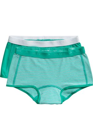 Ten Cate Shorts Stripe and mint 2 pack maat 98/104