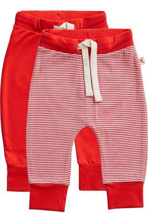 Ten Cate Kinderen Lingerie & Ondermode - Broek Stripe and flame scarlet 2 pack maat 74/80